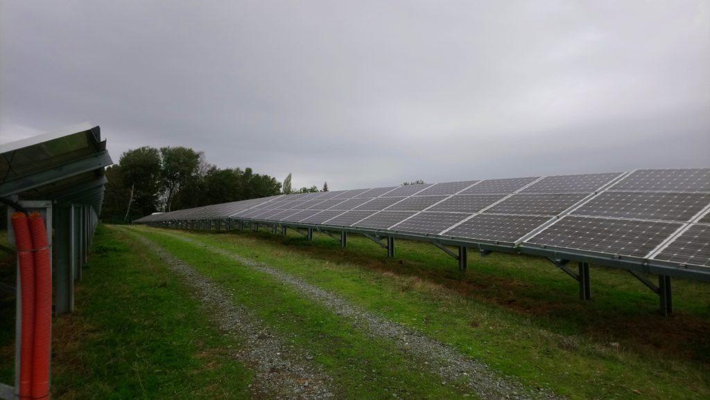 champs photovoltaïque de Bonnat.